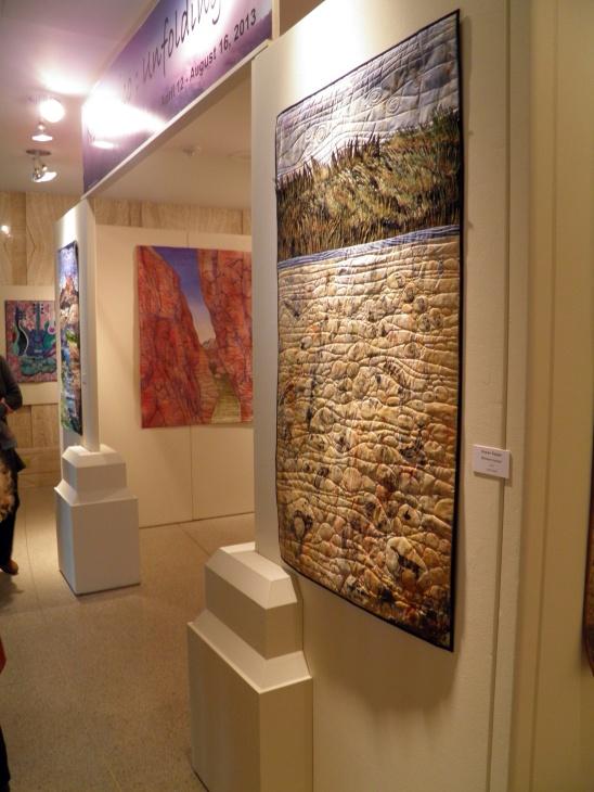 Unfolding Exhibit Entrance